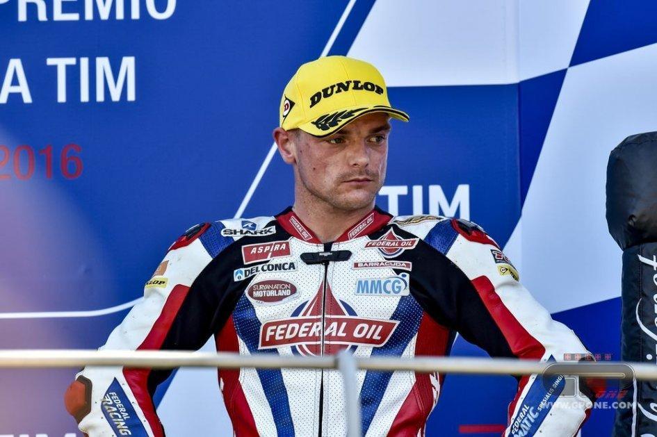 Lowes: First test on the Aprilia MotoGP bike at Misano