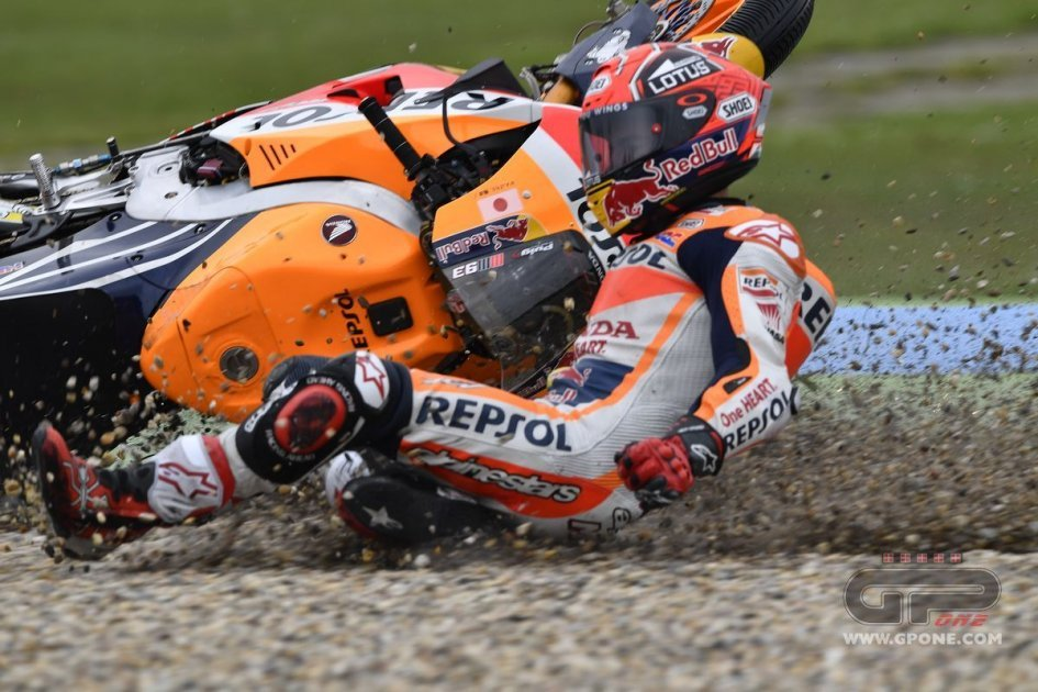 Marquez: I risked more on the scooter than on my bike!