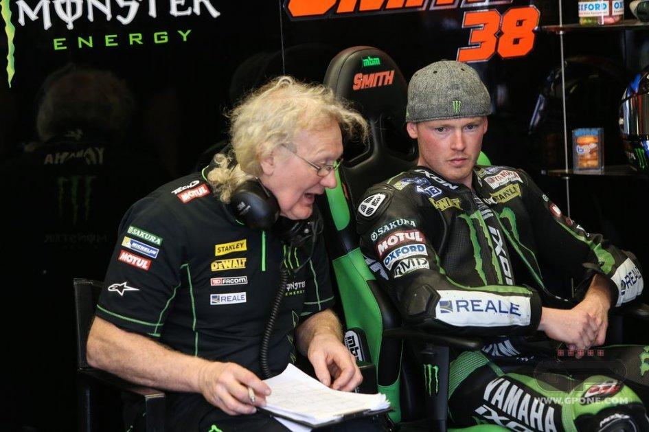Smith on the Yamaha ROC 500 2-stroke at Spa
