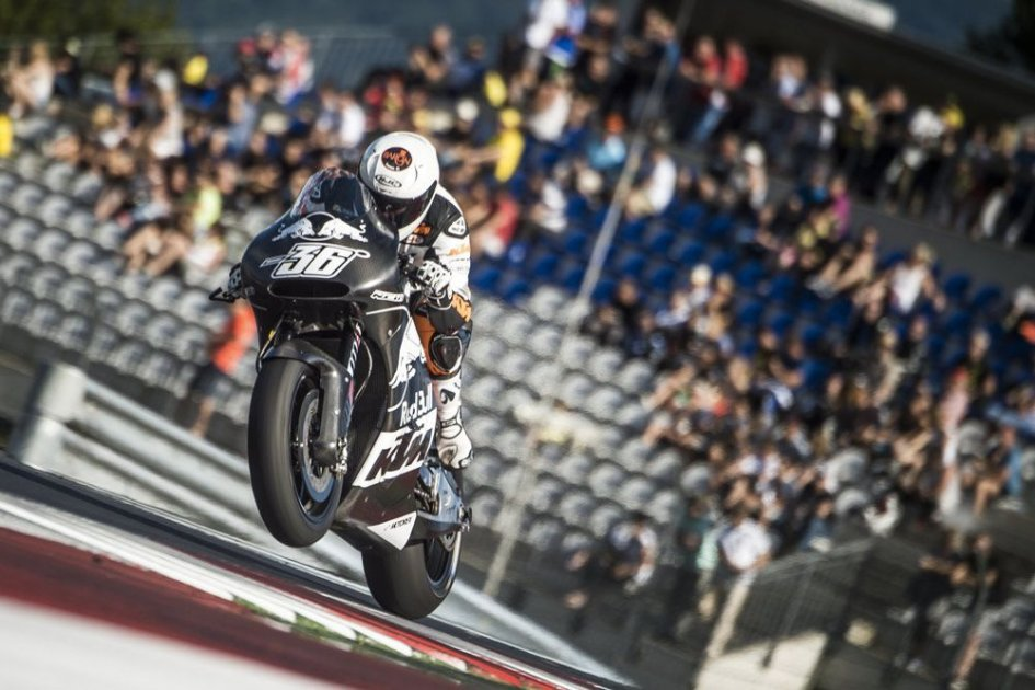 KTM: new bike and wildcard at Valencia