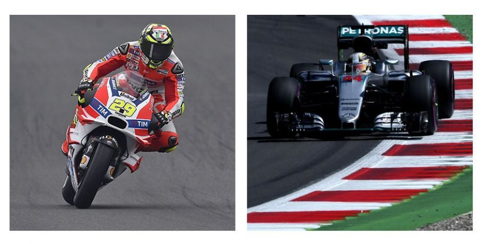 Iannone VS Hamilton: here's who wins on the Red Bull Ring