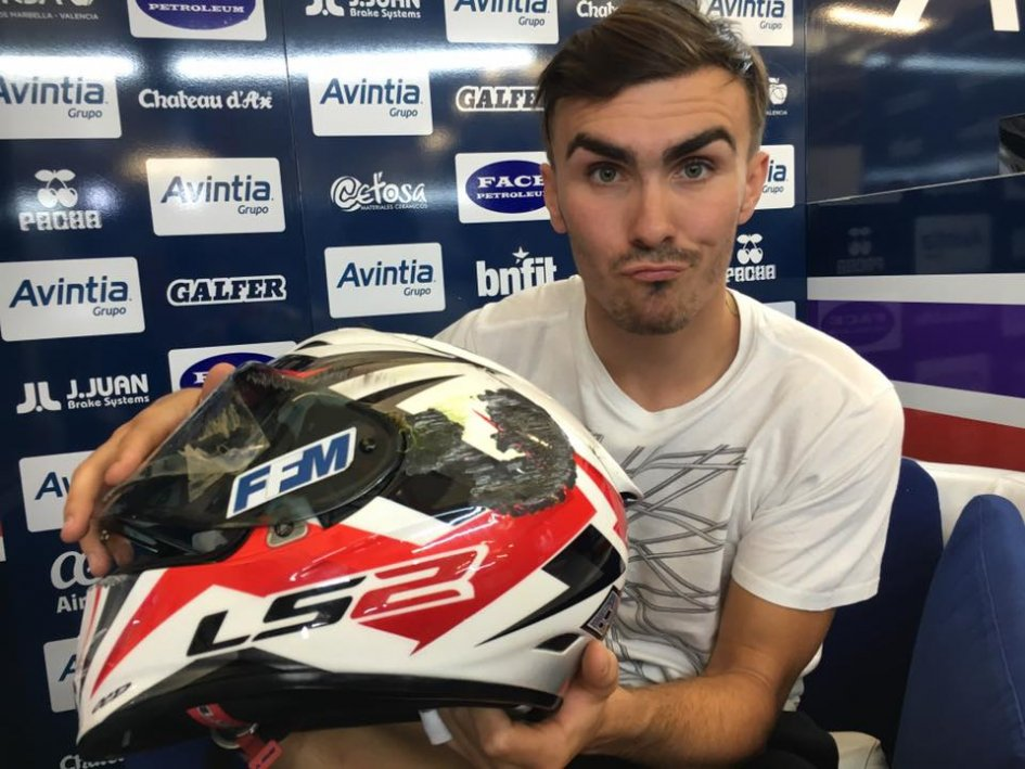 """Loris Baz: """"I'll rest up and be ready for Misano"""""""