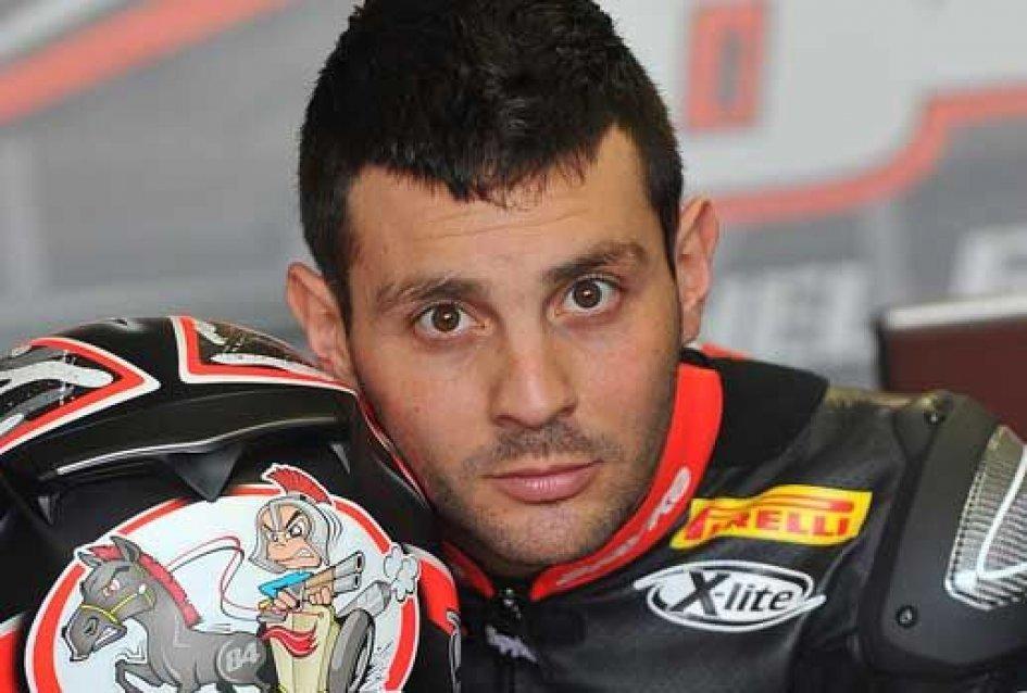 Michel Fabrizio back on the bike at Mugello!