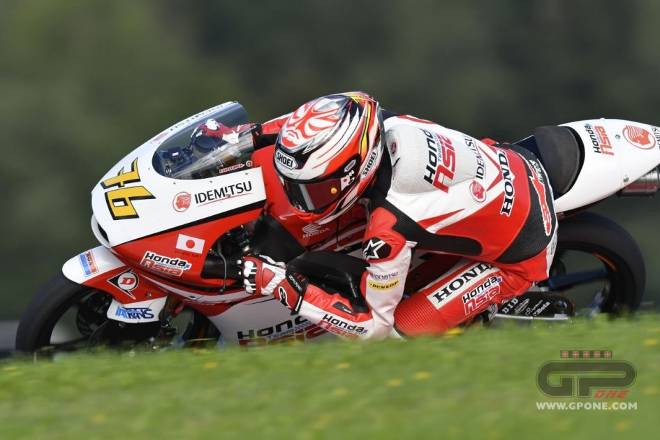 Ono in pole at Motegi, but to start 4th