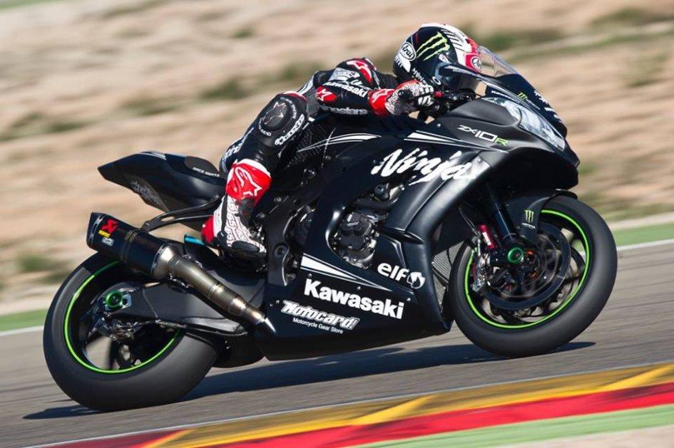 Test: A Jerez Rea più veloce della pole di Rossi