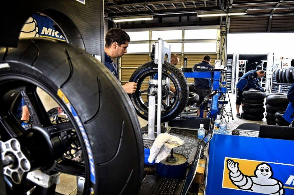 MotoGP says goodbye to intermediate tyres