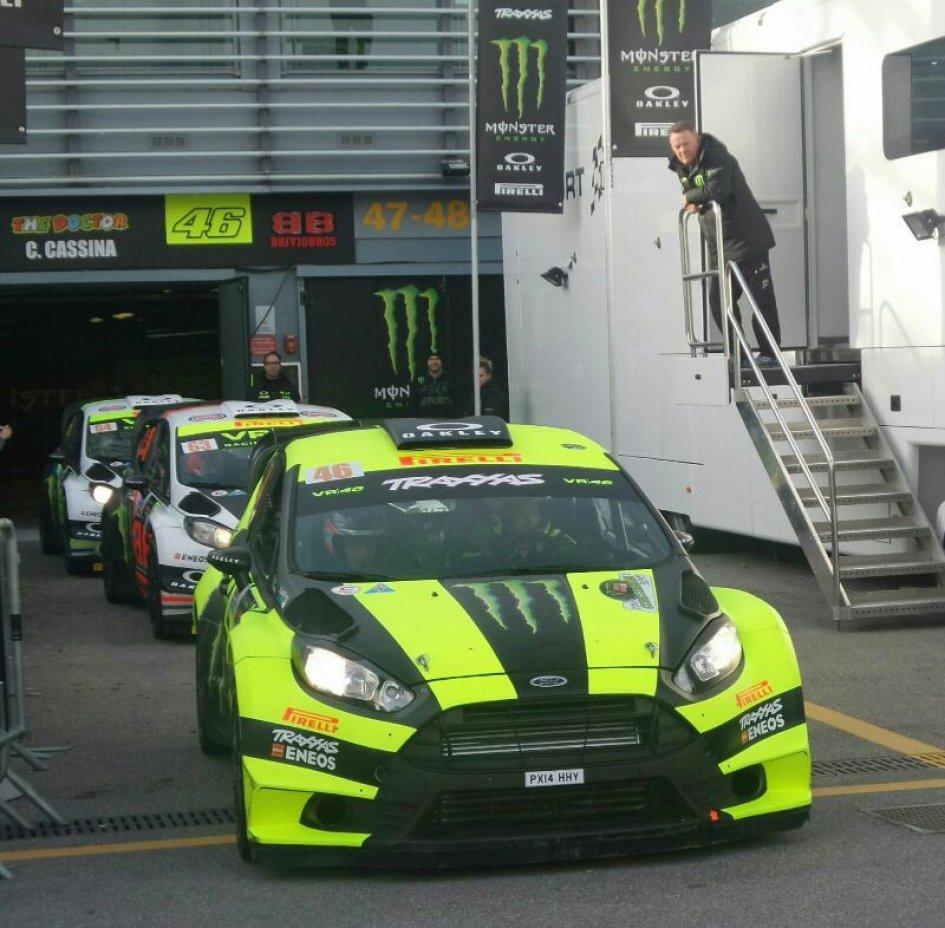Al Monza Rally è sfida a tre Rossi-Sordo-Cairoli