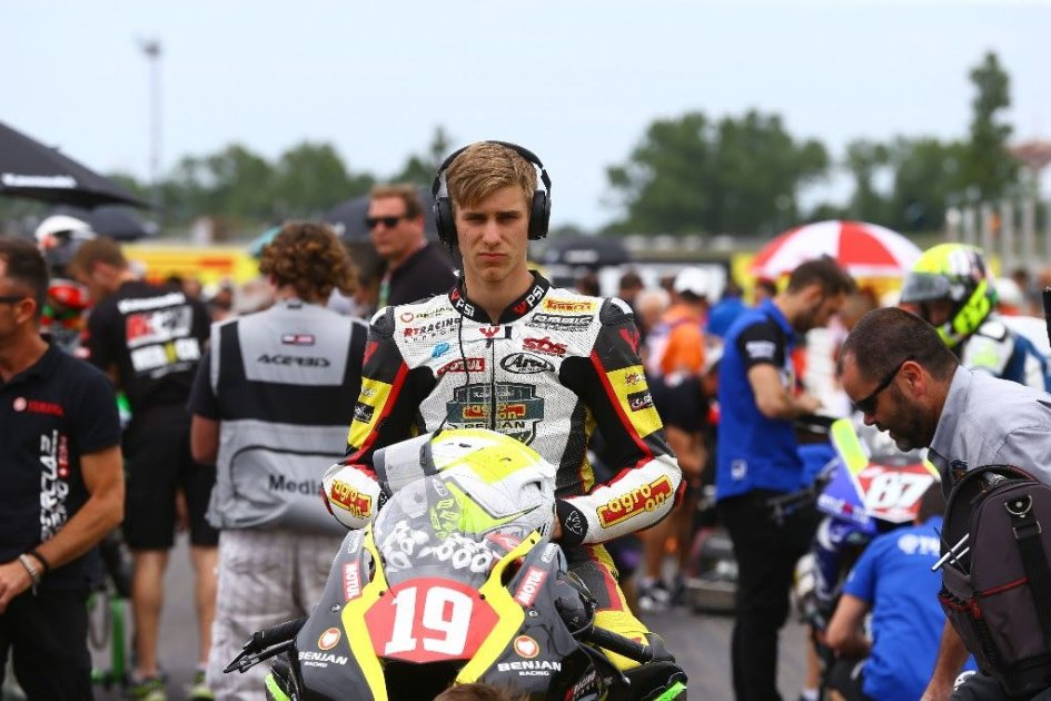 Althea and Fabrizio bet on Puffe in STK1000
