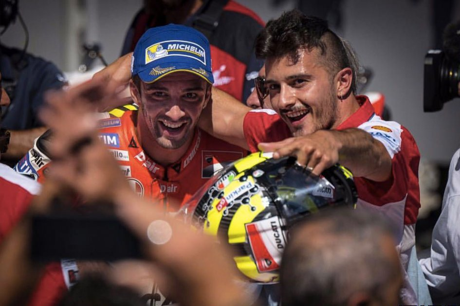 The other Iannone: Andrea's guardian angel