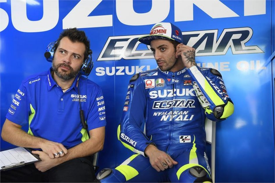 "Iannone: ""I just need to adapt the Suzuki to my style"""