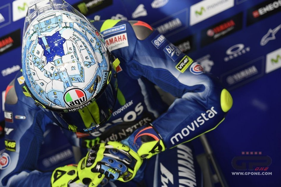 At Sepang Rossi has the Tavullia snow on his mind
