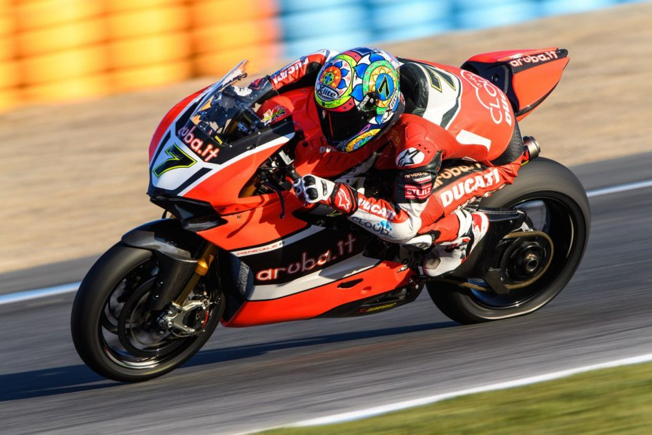 Test Portimao: Ducati svetta con Davies, Melandri attardato