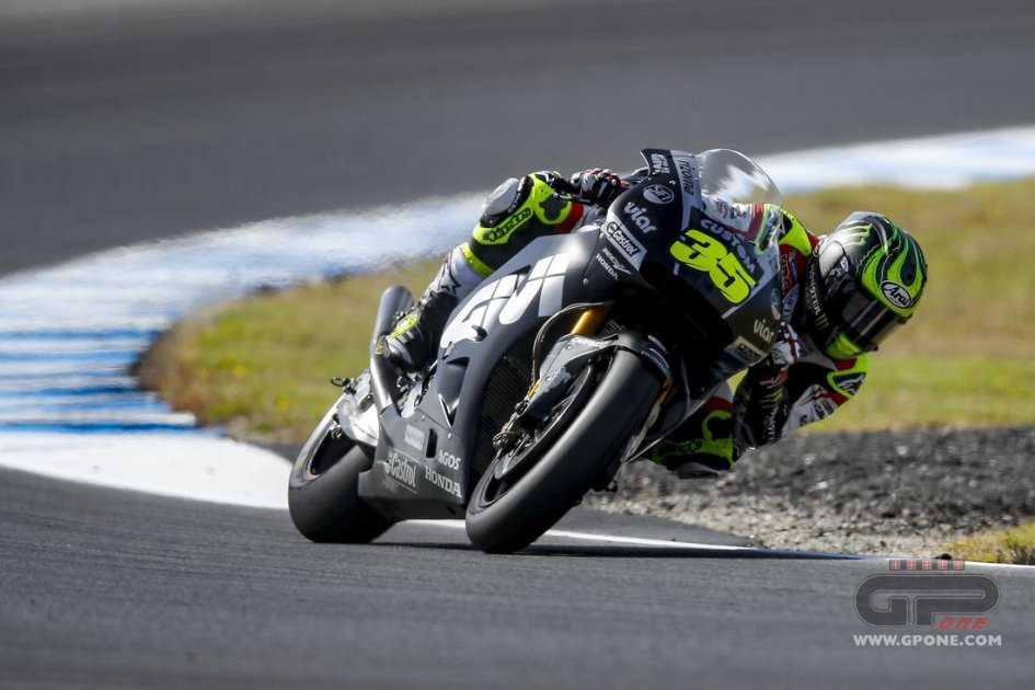 MotoGP: Crutchlow: I was 3rd? I didn't even try for the time