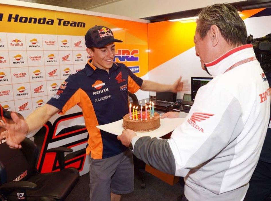 MotoGP: In Australia birthday party also for Marc Marquez