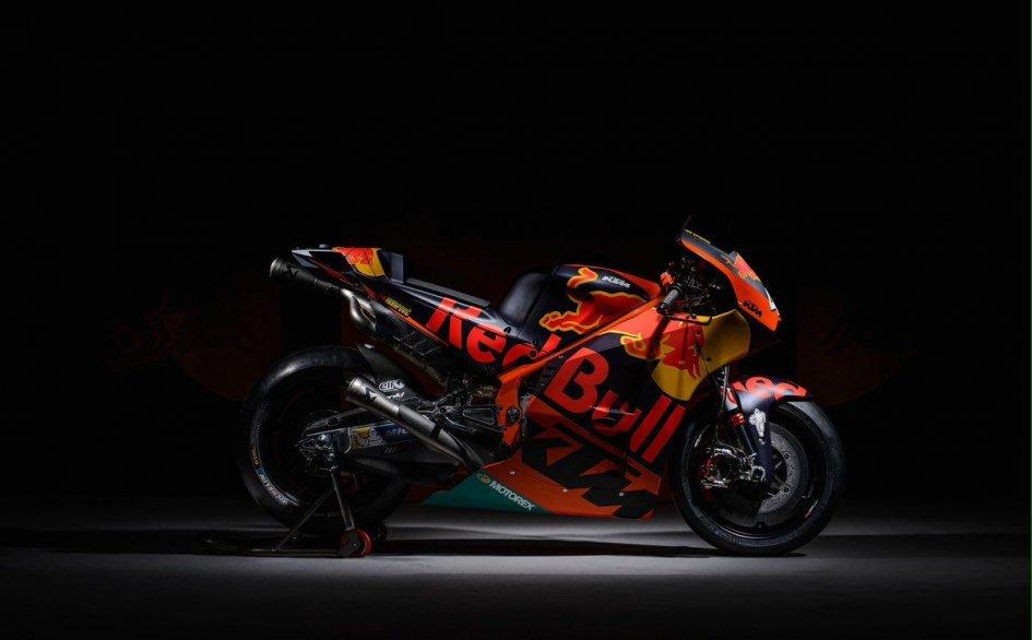 Nuova KTM MotoGP 2017: presentata la nuova RC16