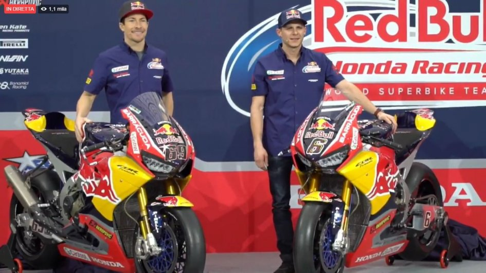 SBK: Hayden and Bradl, raging bulls for Honda