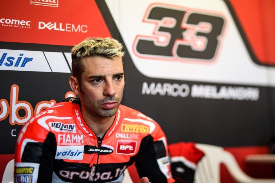 SBK: Melandri: race fast? only if I'm happy
