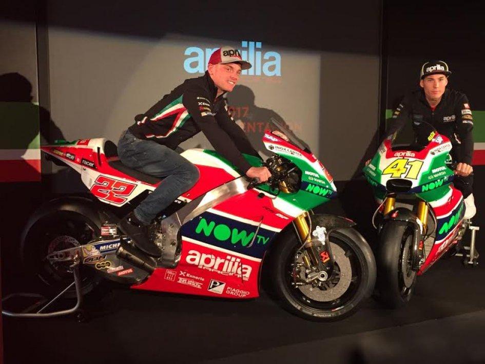 Motori24 Aprilia presenta il team per la MotoGp