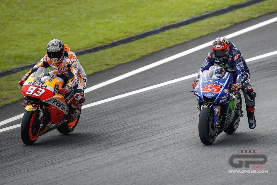 """MotoGP: Vinales e Marquez a un """"passo"""" dalla sfida"""