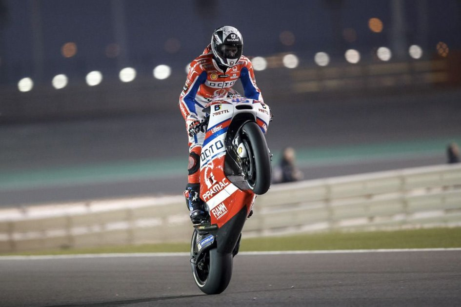MotoGP, Qatar, FP2: Ducati alla riscossa, Redding 1° e Dovizioso 2°