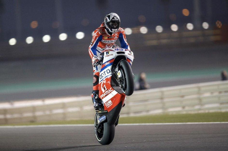 MotoGP: Qatar, FP2: Ducati alla riscossa, Redding 1° e Dovizioso 2°