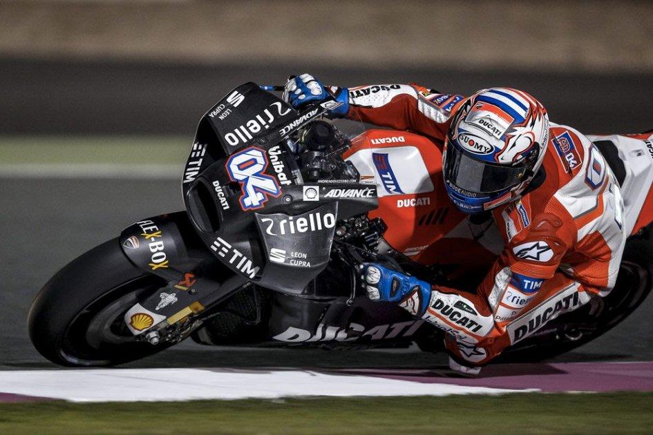 [MotoGP] Test Losail Dovizioso-carena