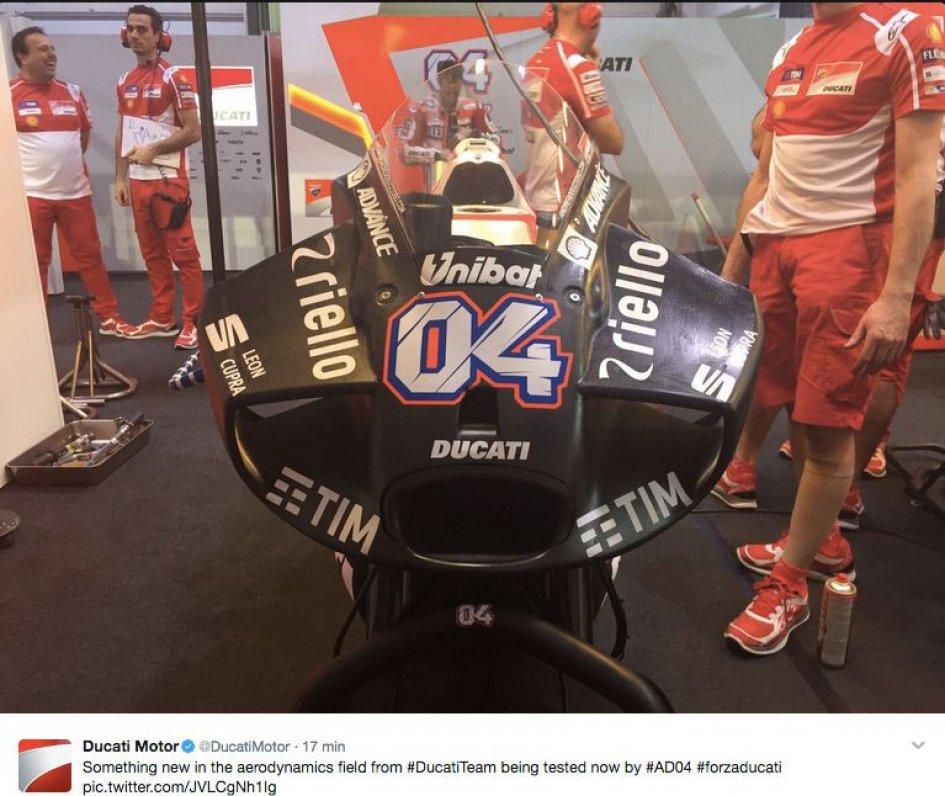 MotoGP, test in Qatar: Dovizioso e la Ducati volano