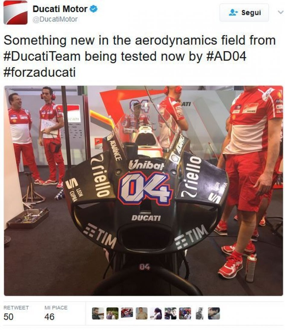 MotoGP: Here is the new fairing Ducati 'devilfish'