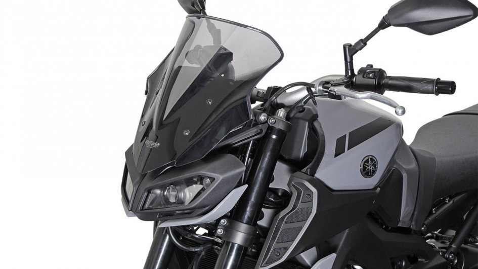 News Prodotto: MRA for Yamaha MT-09 '17: the protective top fairing