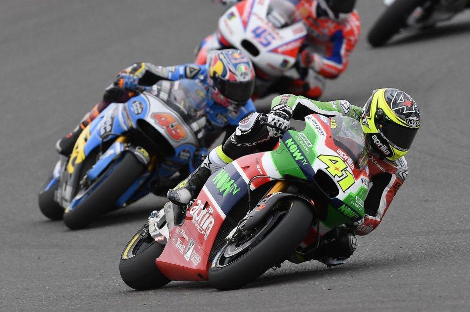 MotoGP: Espargarò: Sono caduto quando iniziavo ad essere competitivo