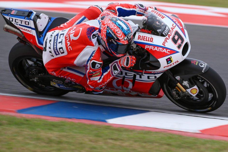 MotoGP: Petrucci: Tanti problemi in gara. Presi punti preziosi