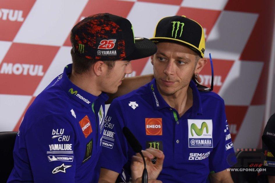 MotoGp, in Argentina doppietta Yamaha: vince Viñales, secondo Rossi