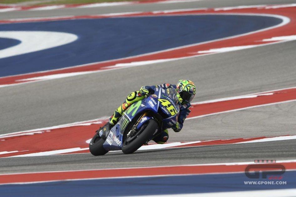 Gp Austin: Marquez davanti a Rossi. Valentino in testa al mondiale