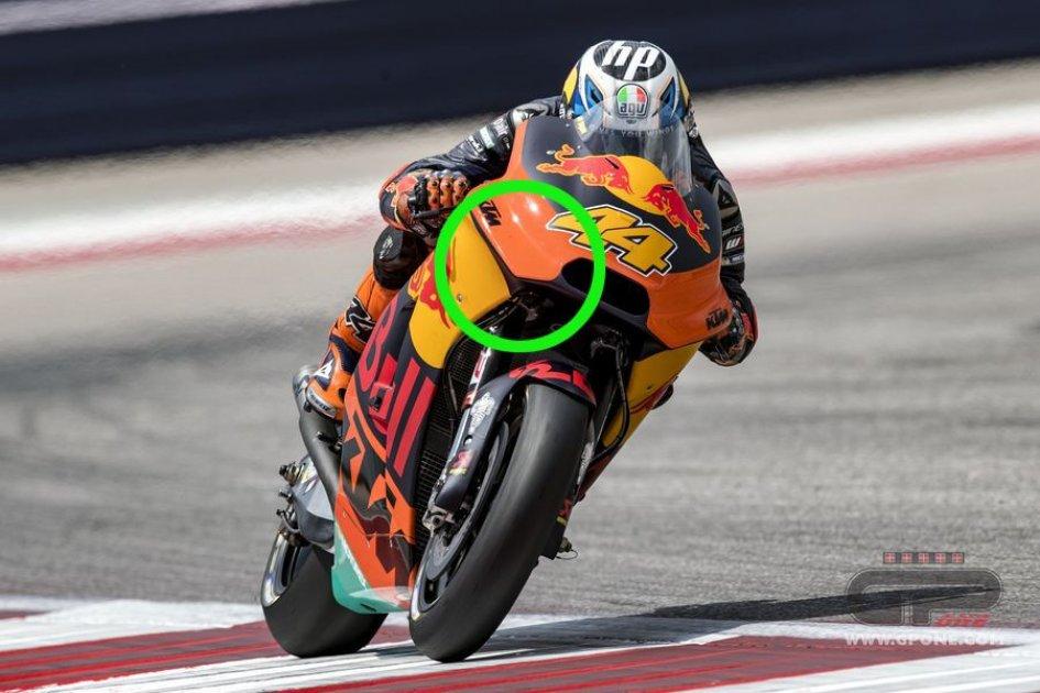 MotoGP: La KTM finalmente...mette le ali