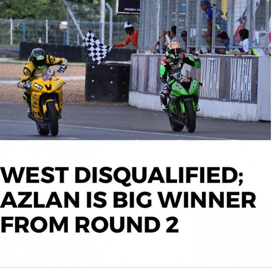 News: West: l'ARRC è un campionato corrotto, tolta la vittoria