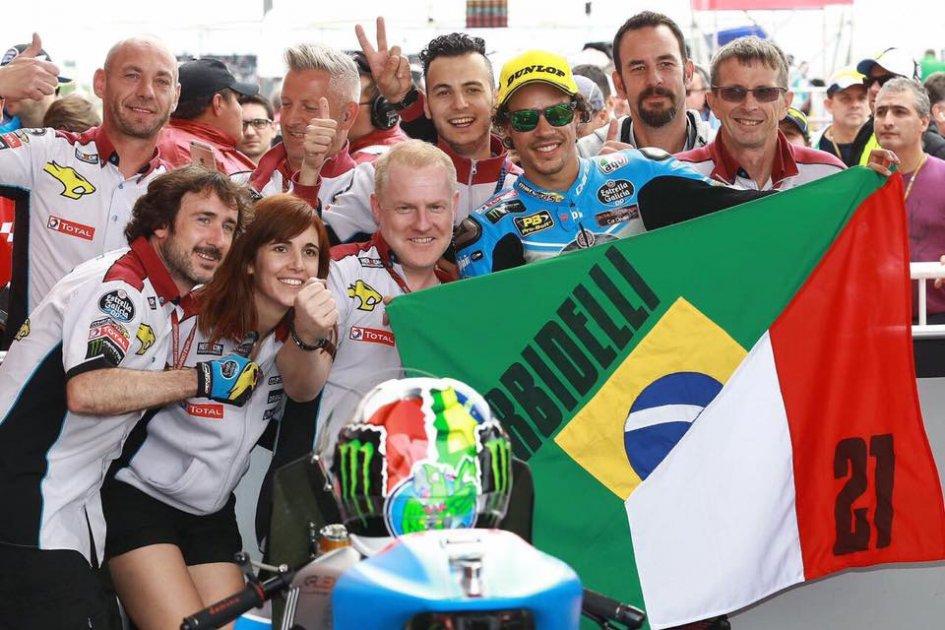 Moto2 Jerez, Gara: Prima vittoria in carriera per Marquez, Morbidelli k.o