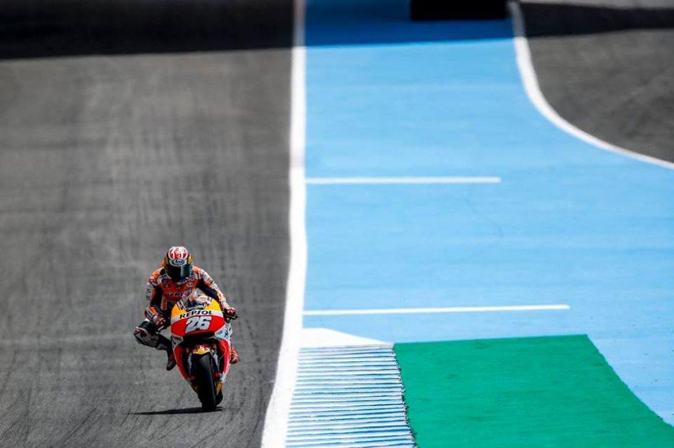 MotoGP: Pedrosa piega Marquez e conquista la pole a Jerez, 7° Rossi