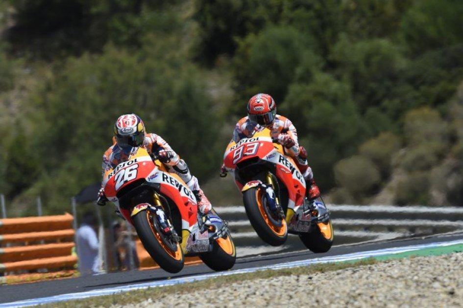 MotoGP: Pedrosa batte Marquez a Jerez, Lorenzo e la Ducati sul podio