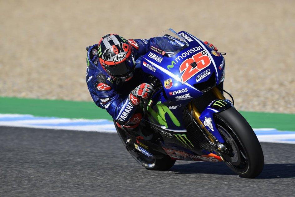 MotoGP: Test Jerez: Vinales di misura su Marquez, 21° Rossi