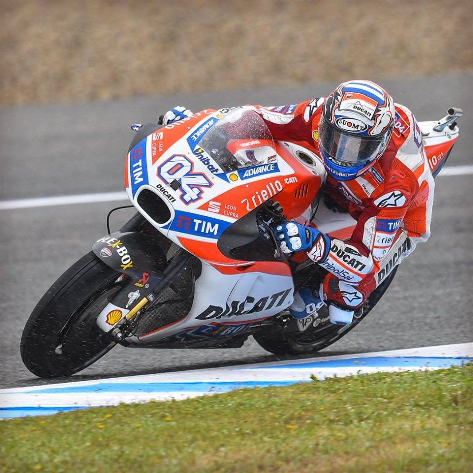 MotoGP: FP2: it rains when it pours at Le Mans, Dovizioso 1st