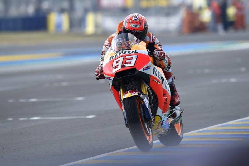 Moto Gp: Vinales vince in Francia, Rossi fuori nell'ultimo giro
