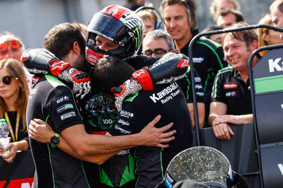 SBK: Rea: the Kawasaki was competitive like never before
