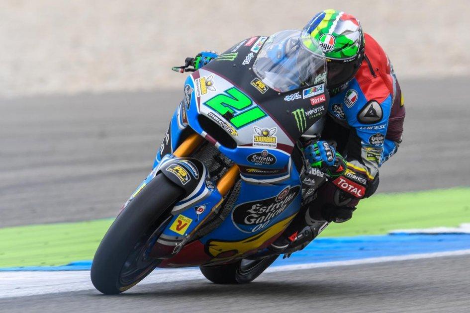 Moto2: Morbidelli, vittoria di forza ad Assen su Luthi. Retrocesso Pasini
