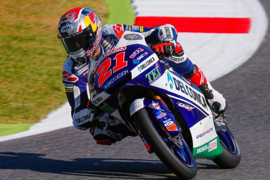 Gara Moto 3 Mugello 2017, Di Giannantonio conquista il secondo podio consecutivo