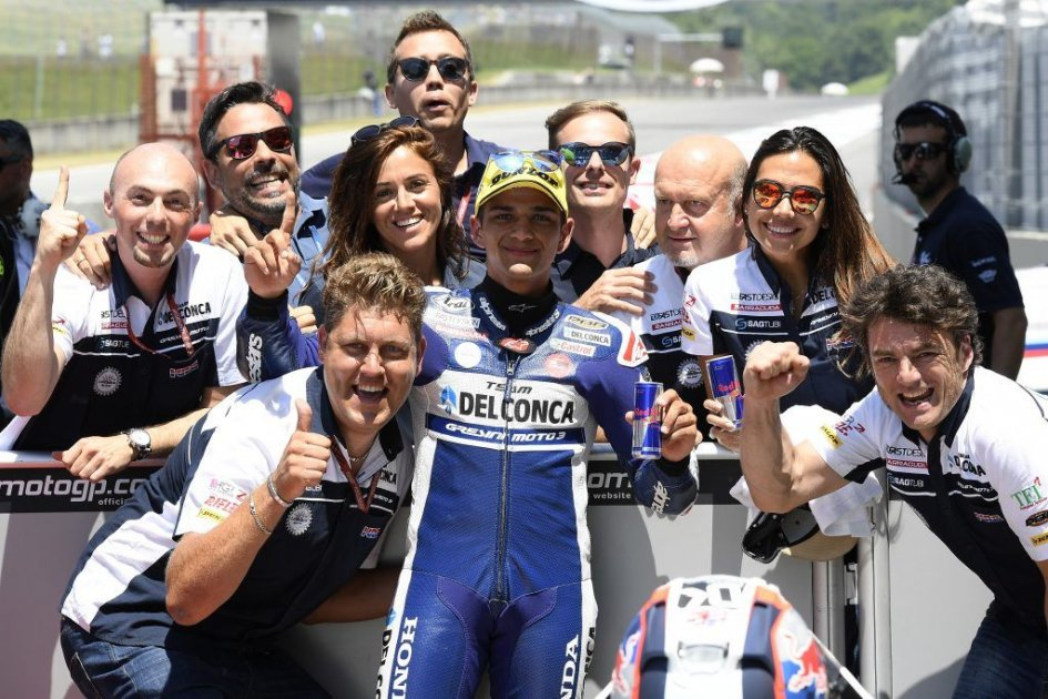 Gp Italia: Mir leader in terze libere Moto3