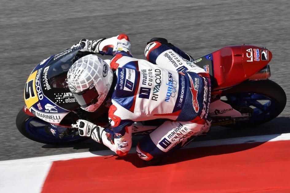 Moto3, Gp Catalunya: Pole super per Jorge Martin