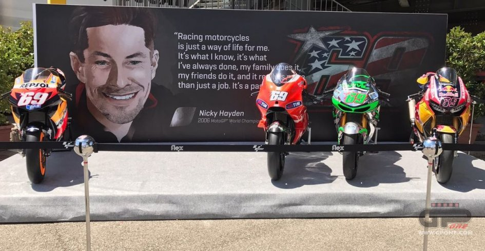 MotoGP, The GP of Italy honors Nicky Hayden at Mugello | GPone.com