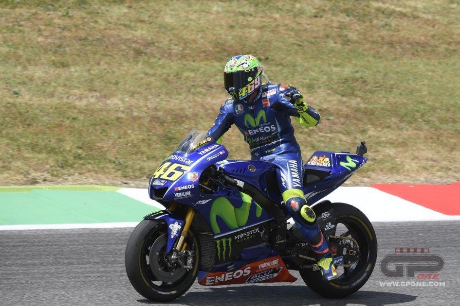 MotoGP: Valentino Rossi: dopo 8 giri ero finito
