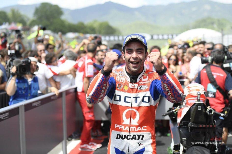 MotoGP: Petrucci: le gomme sono più importanti della moto