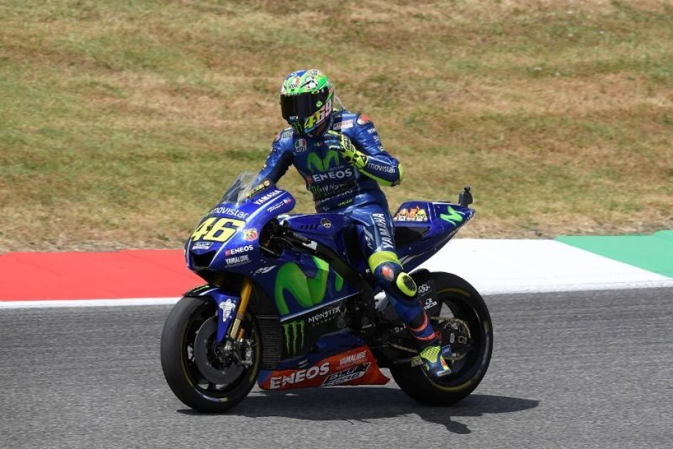 """MotoGP: Rossi: """"I would have preferred to stop, I'm aiming for the podium in Spain"""""""